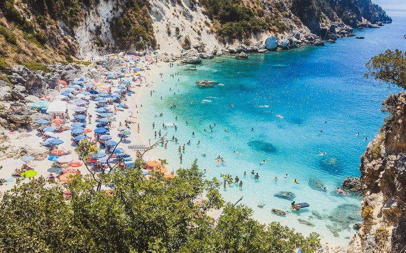 Agioifili Beach, Lefkada