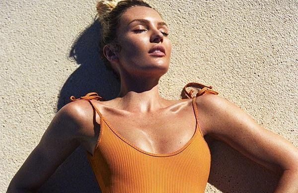 Fall for Candice Swanepoel's swim line, Tropic of C