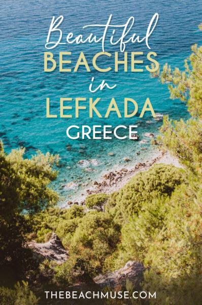 Beautful beaches in Lefkada Greece