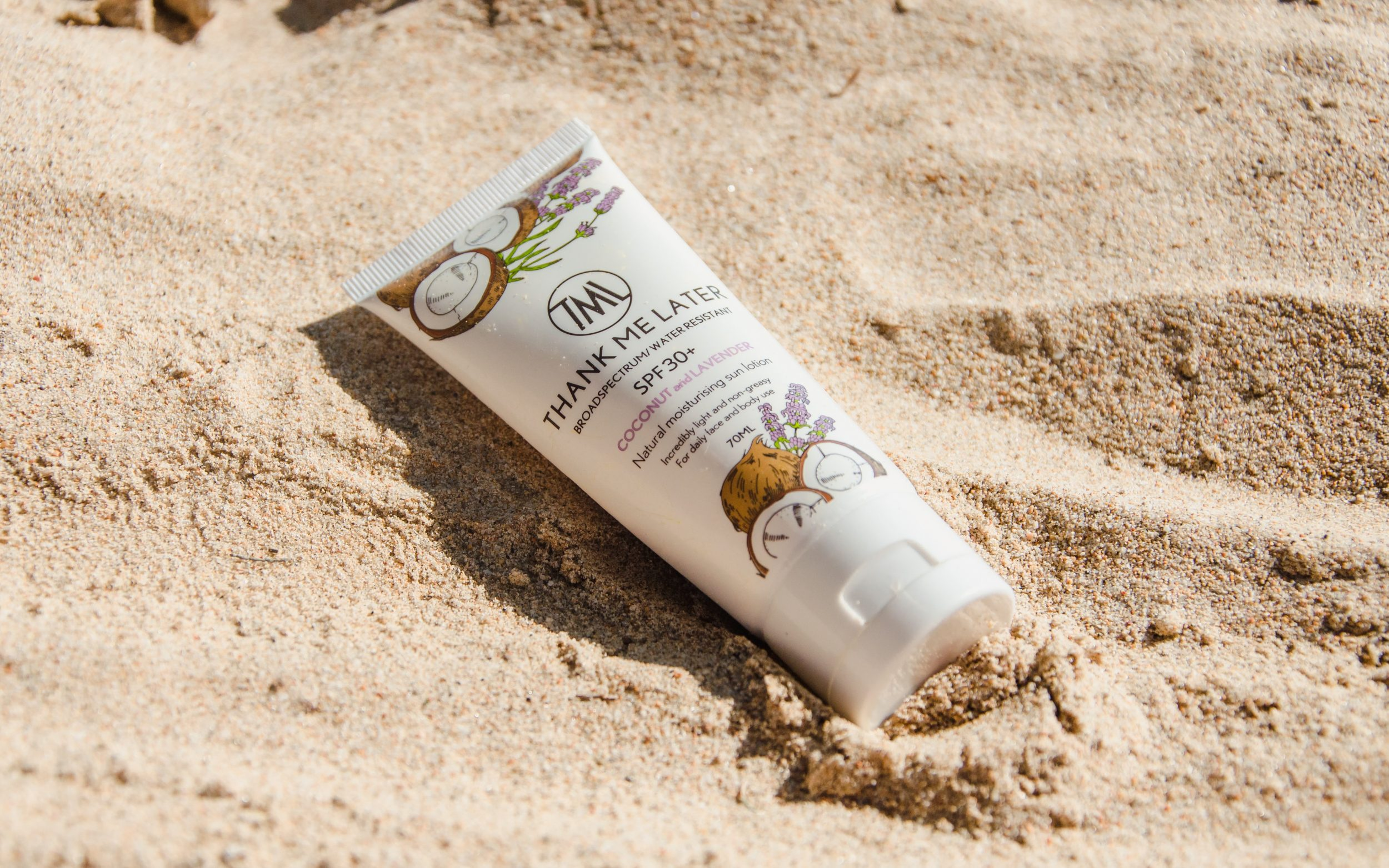 Thank Me Later Natural Sunscreen Review