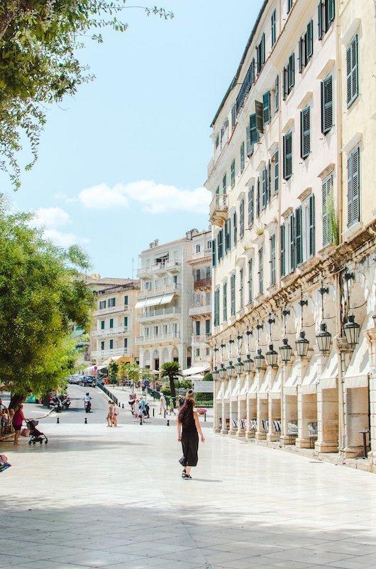 Liston Corfu Town