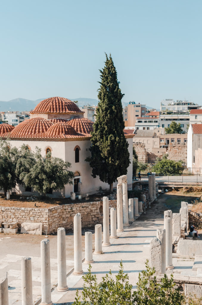 Historical site in Athens, Greece