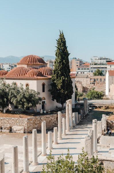 The Roman Agora - historical monuments