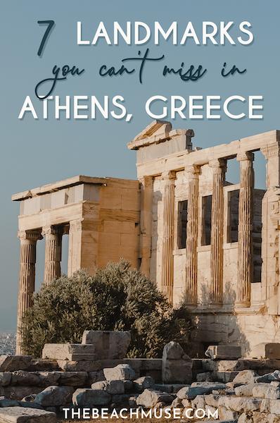 athens greece landmarks