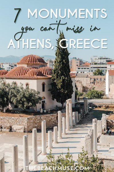 athens greece historic monuments