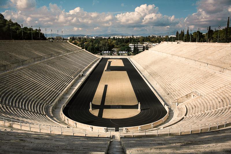 Panathenaic Stadium - Athens landmarks