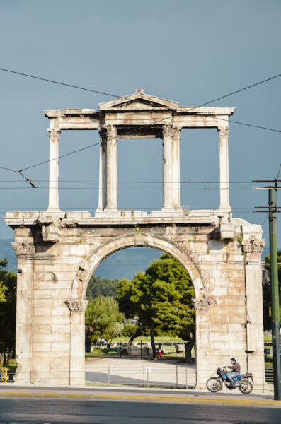 The Arch of Hadrian - Athens historical monuments
