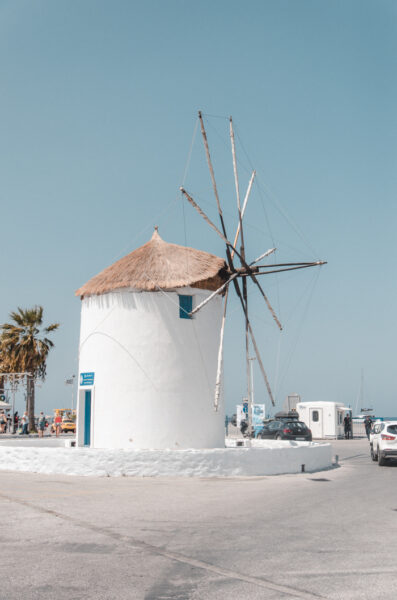 Moulin à vent à Parikia