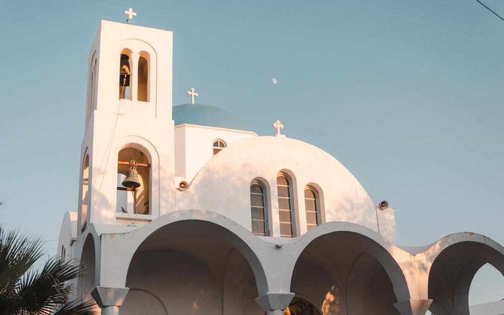 Belle église orthodoxe à Naoussa