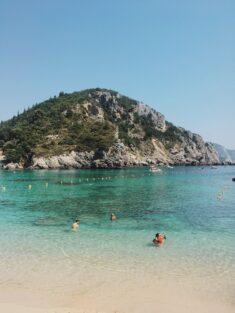 Paleokastritsa Beach - Agios Spiridonas
