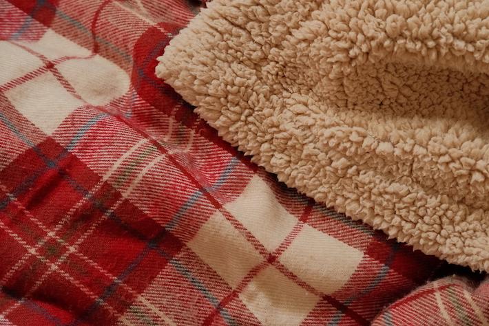Zara Home comfortable winter blanket