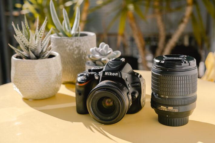 Nikon d5100 APS-C travel camera