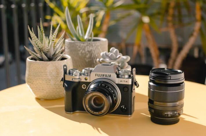 Fujifilm X-T4 travel camera