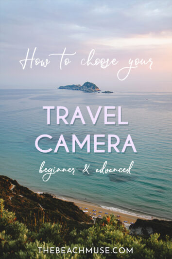 How to choose your travel camera Pin