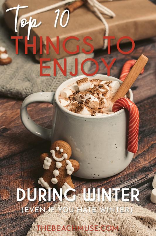 Top 10 things to enjoy during winter Pinterest