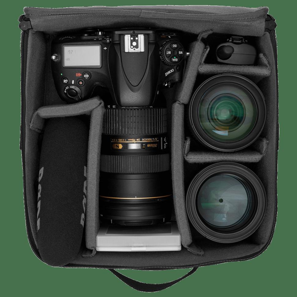 The Backpack camera bag insert for women