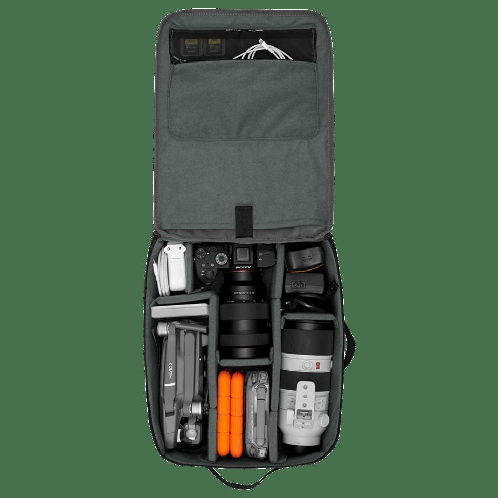 The Backpack Pro camera bag insert for women