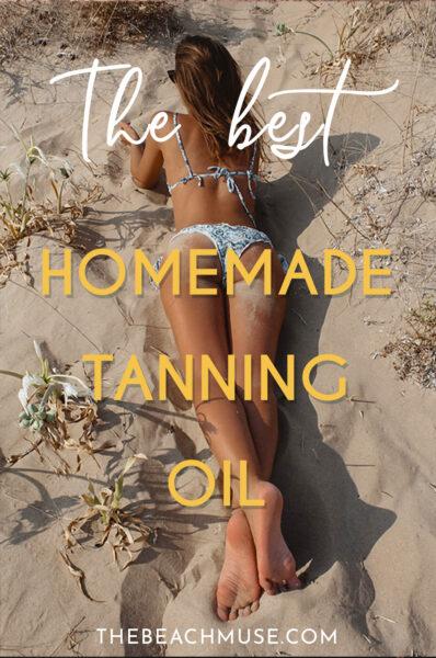 Best homemade tanning oil Pinterest