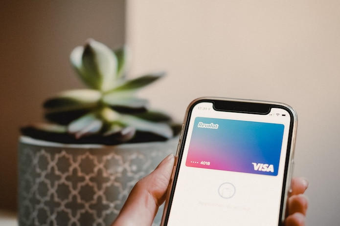 Revolut used on iPhone, the best credit card for Europe travel