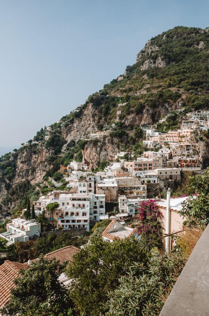 Pretty view Positano