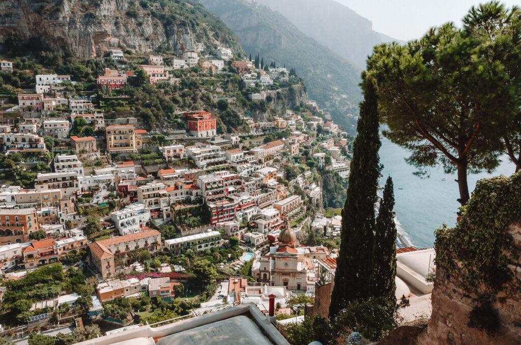 Vue sur Positano, Italie