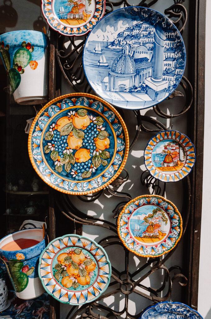 Céramiques à Positano