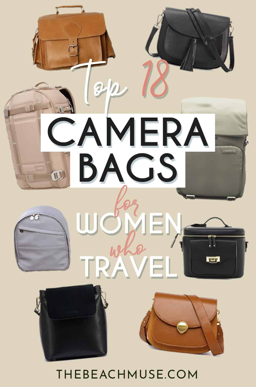 TOP 18 camera bags for women who travel