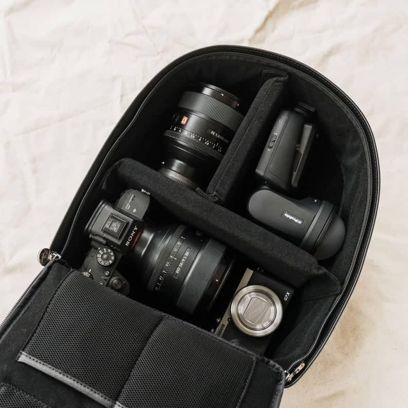 Mini Tog Back camera backpack for women