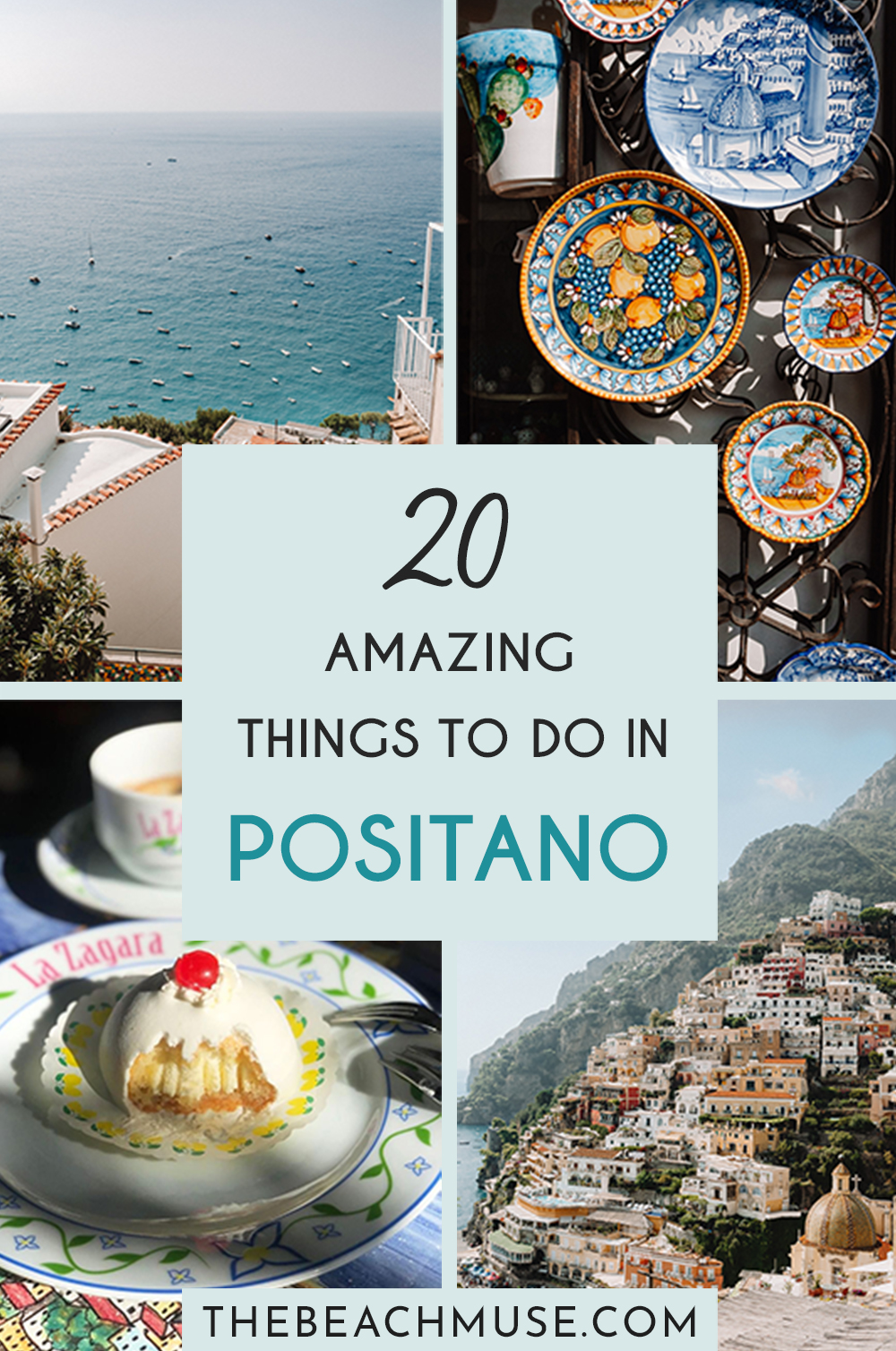 20 amazing things to do in Positano