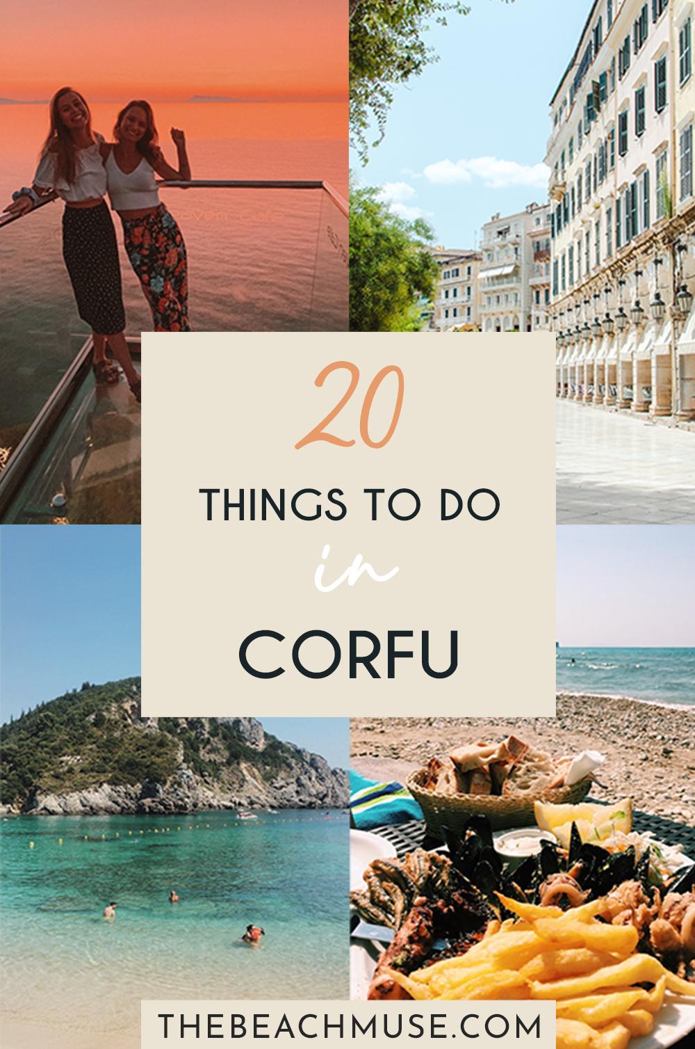 20 things to do in Corfu, Greece