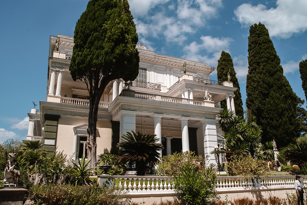 Things to do in Corfu: Achilleion Palace