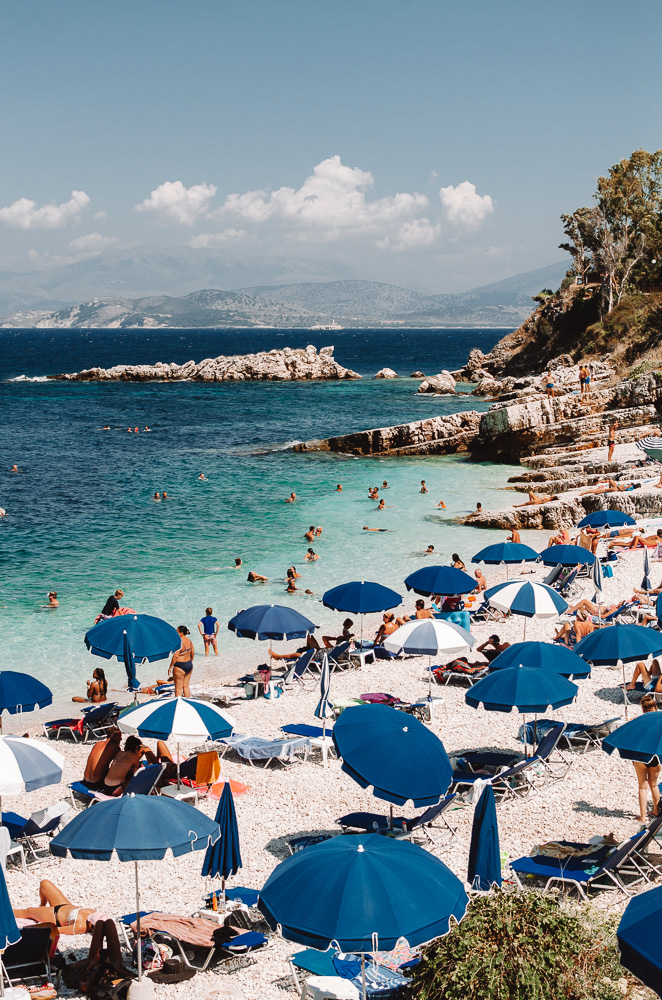 Things to do in Corfu: Bataria beach