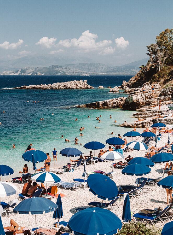 Corfu Bataria Beach