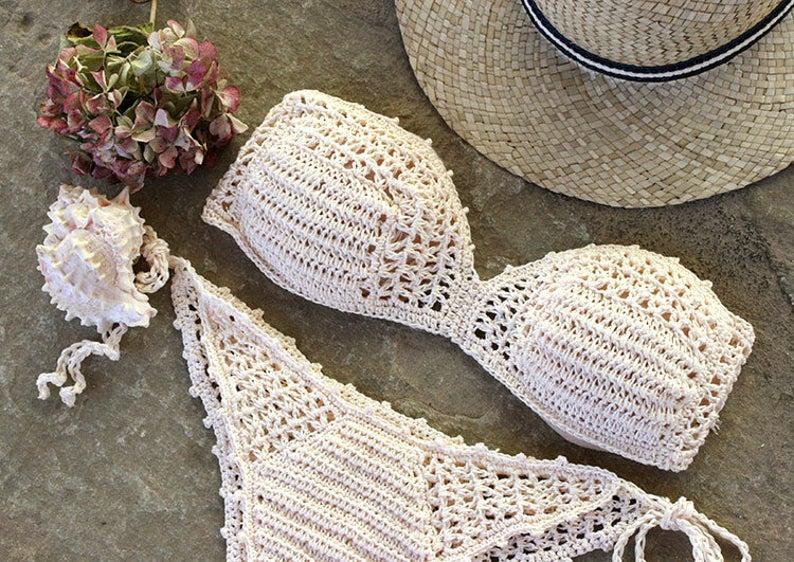 Crochet bikini - Etsy summer favourites