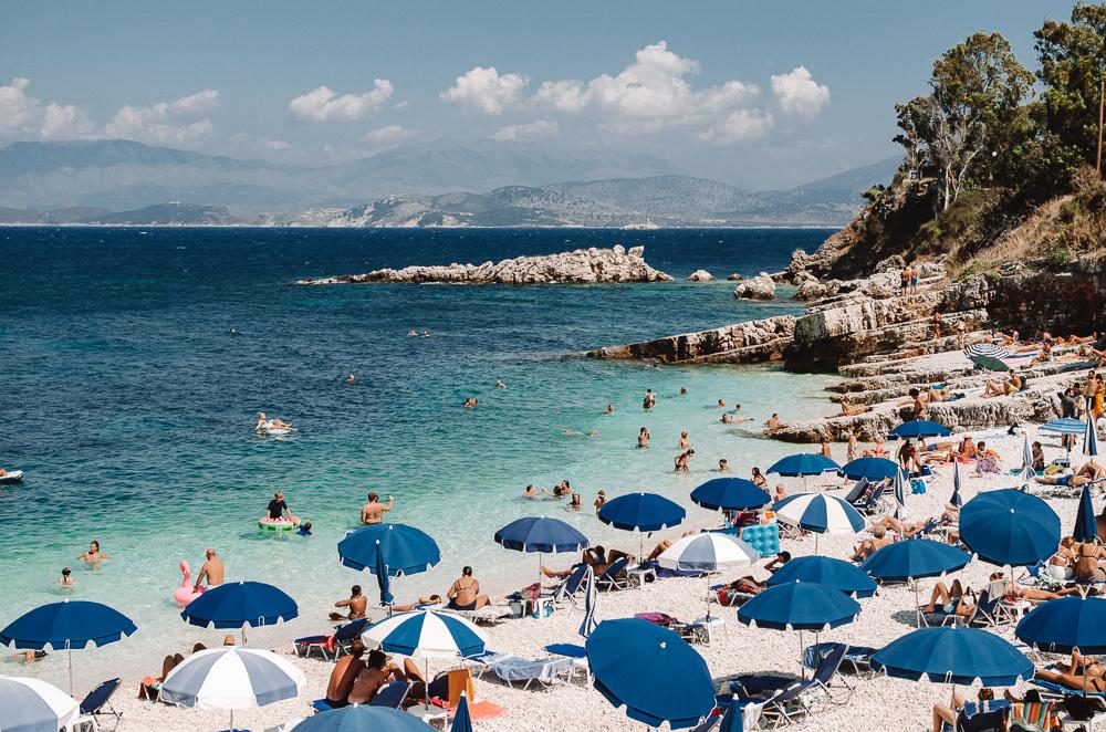 Bataria Beach, Kassiopi, Corfu