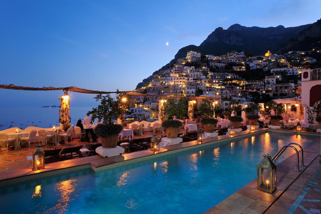Hotel Le Sirenuse Positano le soir