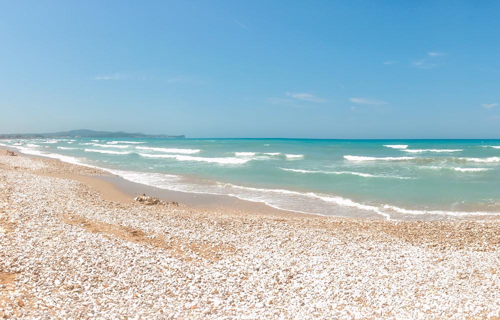 Acharavi beach