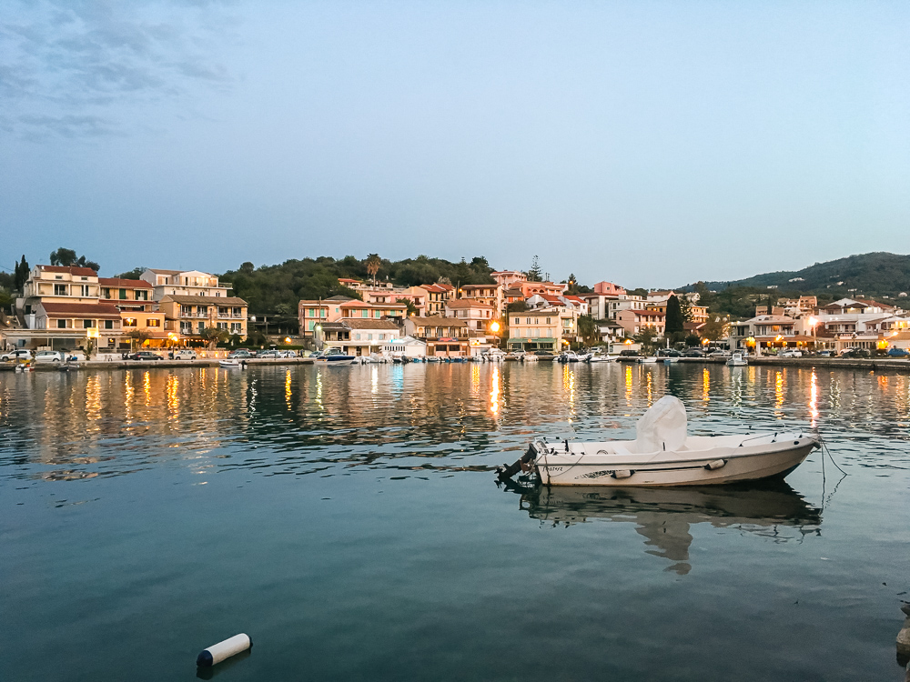 Kassiopi's harbour