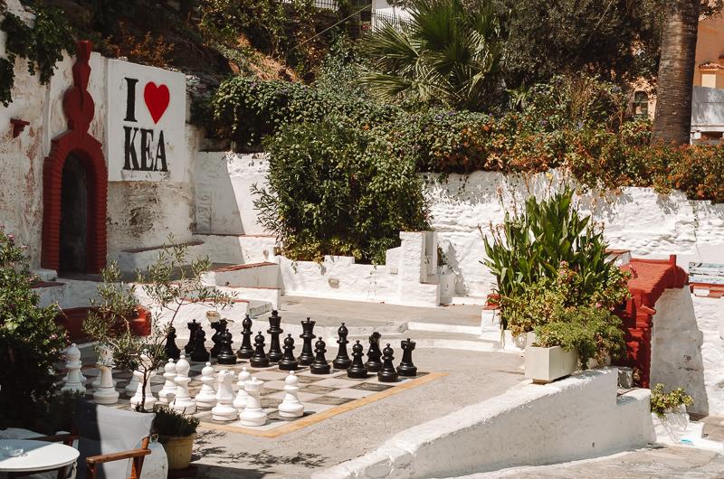 Jeu d'échecs à Ioulida
