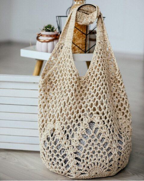 Crochet bag - beach bag gift ideas