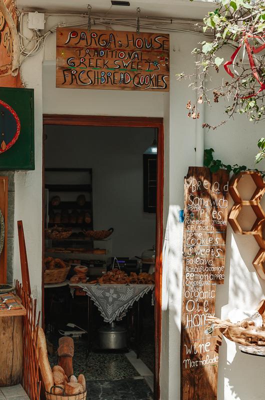 Boulangerie à Parga