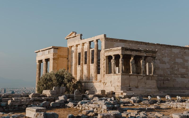 Erechteion Acropolis - what not to do in Athens Greece
