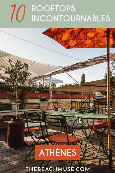 10 rooftops incontournables athènes grèce