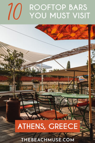 10 rooftop bars you must visit in Athens Greece 2