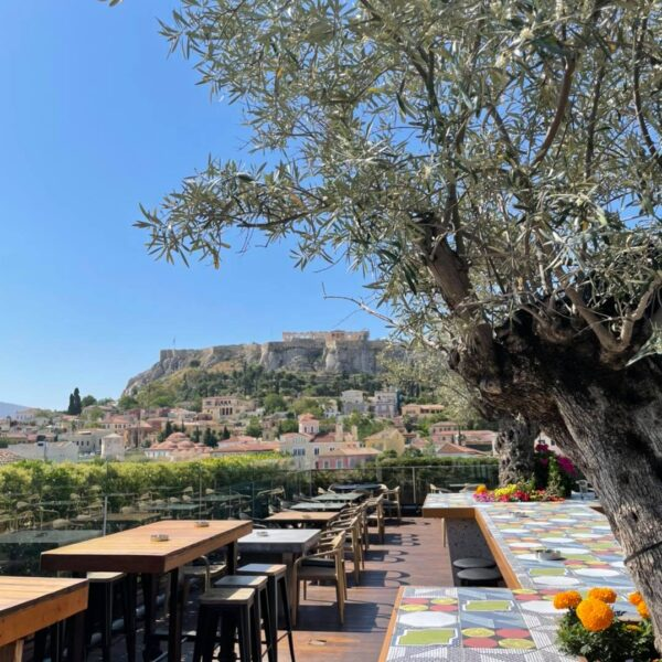 360 bar rooftop athènes grèce