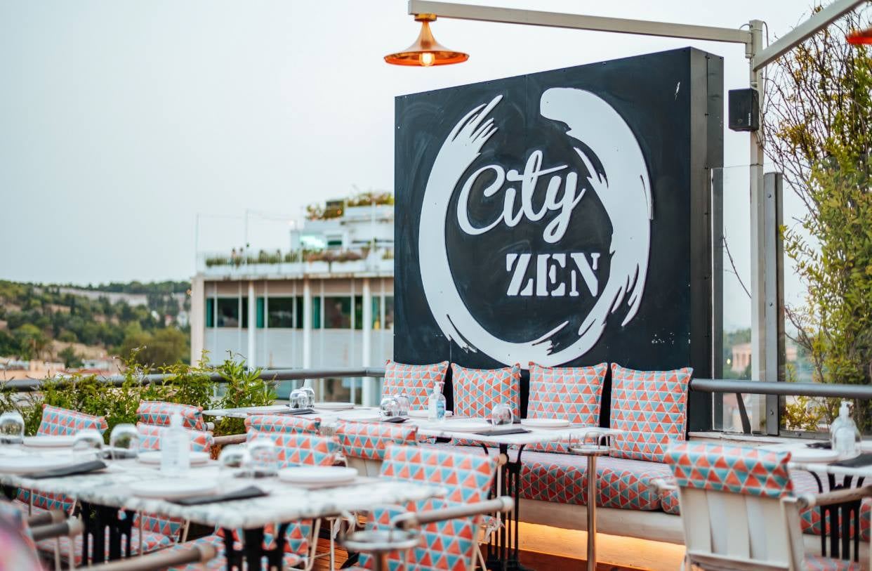 City Zen bar rooftop athènes