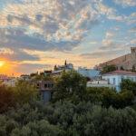 Acropolis Museum restaurant view