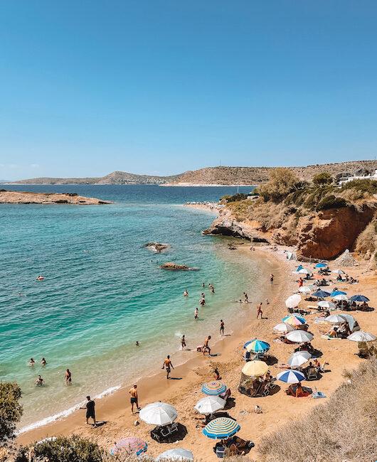 Beaches Athens Greece
