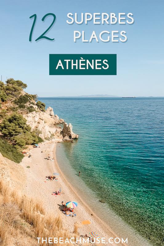 Plus belles plages d'Athènes