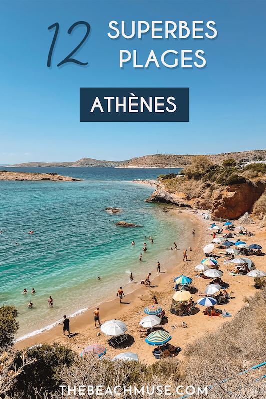 Les plus belles plages d'Athènes